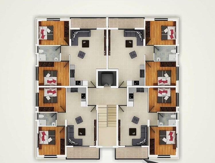 آپارتمان دو خوابه فاماگوستا | خرید خانه در قبرس | خرید ملک در قبرس | قبرس شمالی | قبرس ۷۲۴ | شرایط خرید ملک در قبرس | شرایط خرید خانه در قبرس